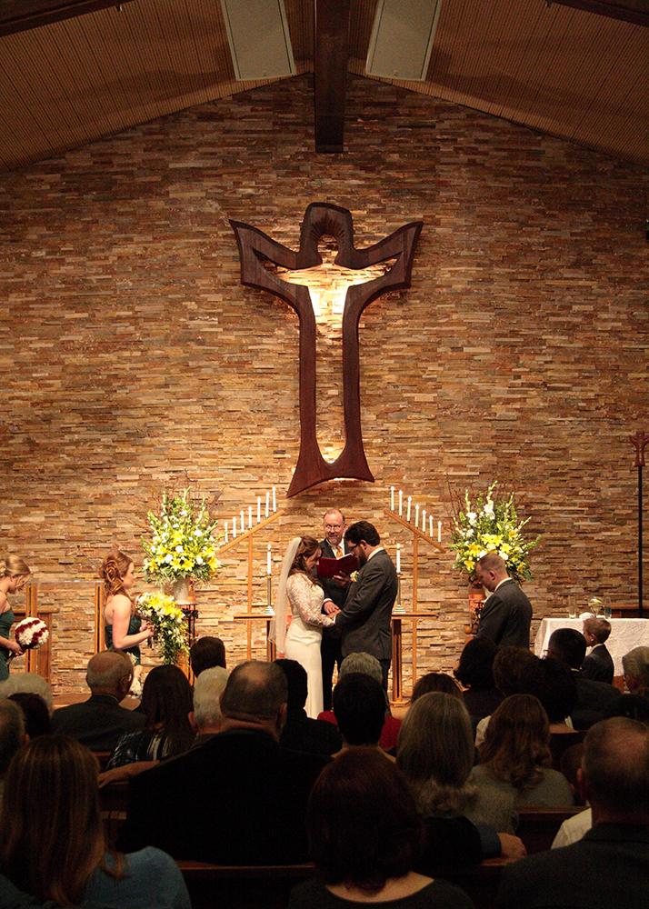 church wedding are rewarding as a wedding photographer