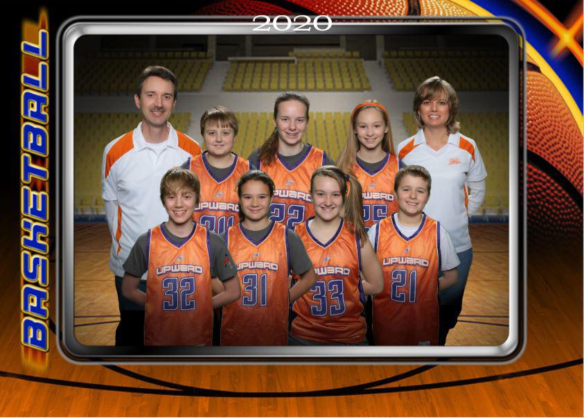 virtual team photo basketball