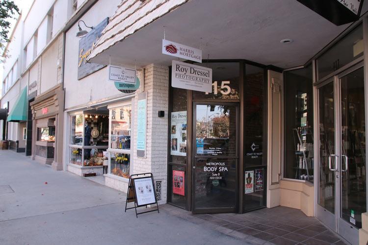 Studio Main Street Entrance