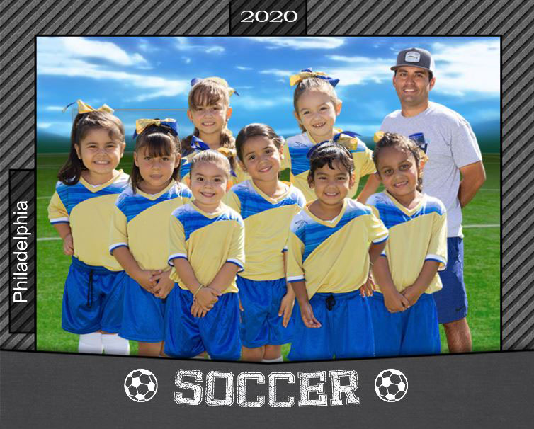 Virtual team soccer photo