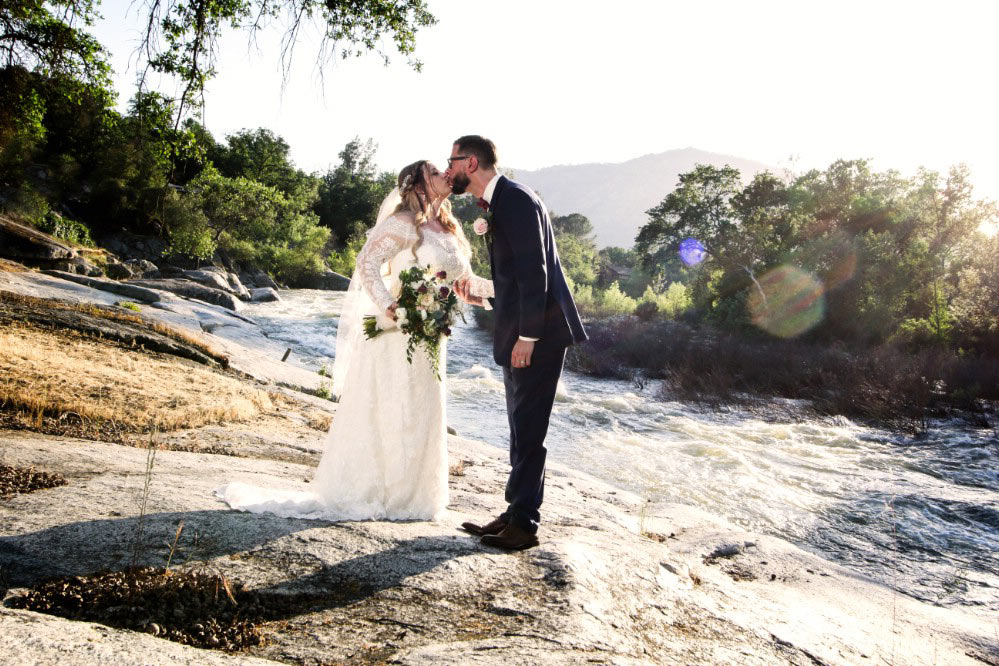 a kiss beside the kaweah river