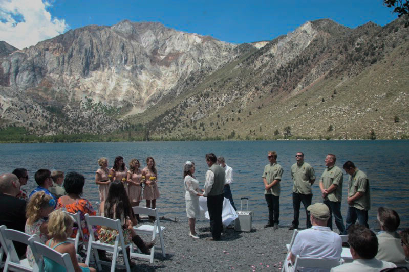 convict lake wedding
