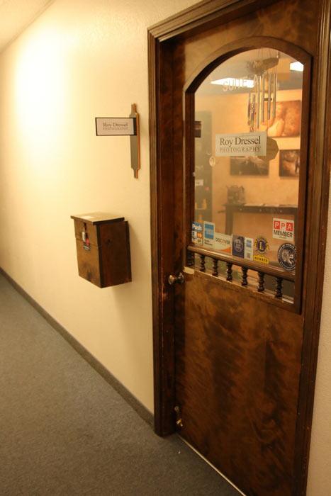 studio entrance door