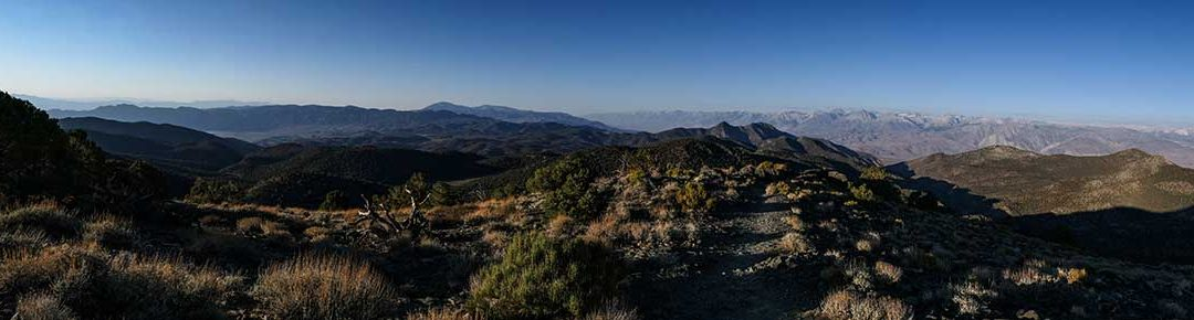 Panorama From White Mountain View Point