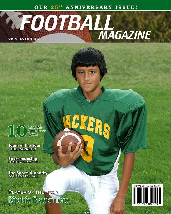 2021 football magazine cover